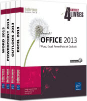 Eni coffre 4 livres pack office 2013 word excel powerpoint outlook
