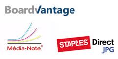Carrefour des assistantes BordVantage Media Note Staples Direct JPG
