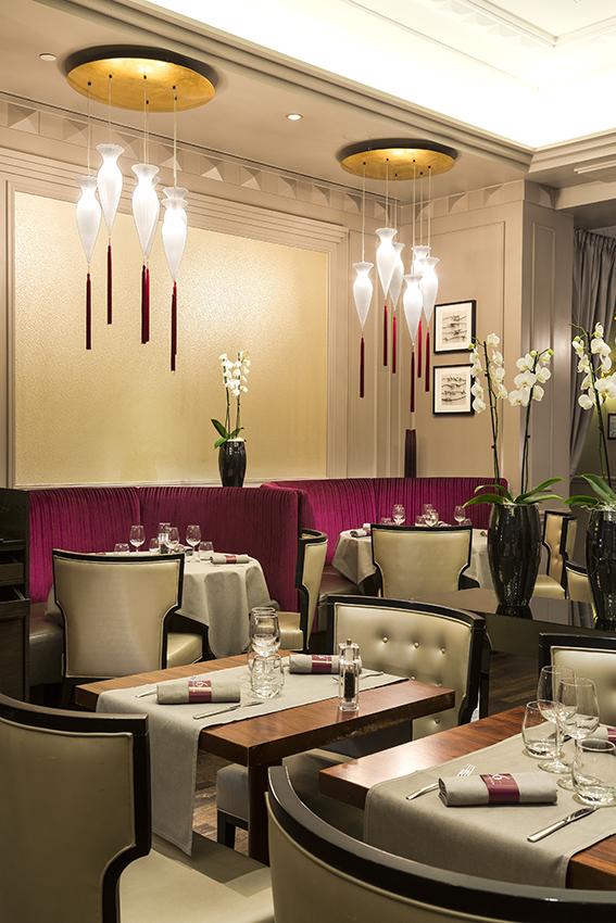 Restaurant 16 Haussmann Paris Marriott Opera