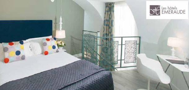 Les Hotels Emeraude MARAIS HOME_