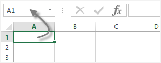 Excel reference cellule