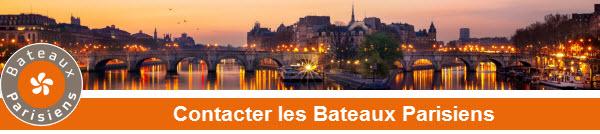 _contacter bateaux parisiens