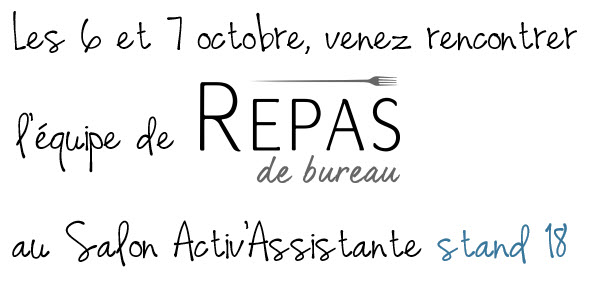 REPAS DE BUREAU SALON ACTIV ASSISTANTE STAND 18