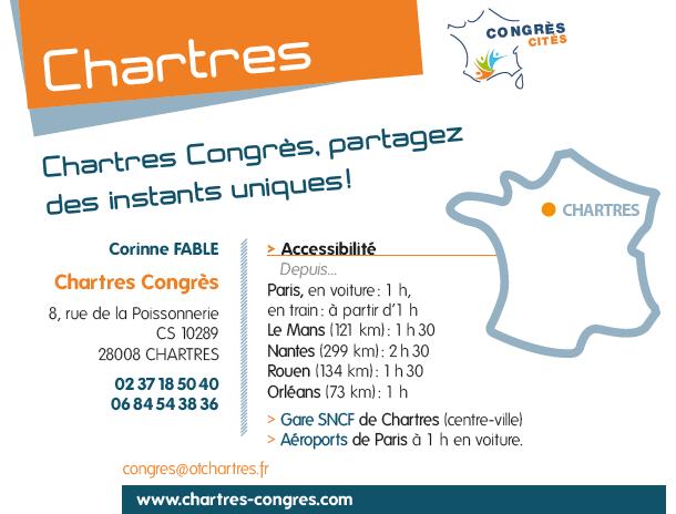 Chartes congres cites france