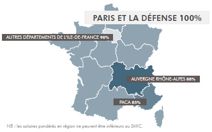 carte france ajuster remuneration 2018 aux regions