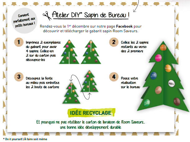 sapin do it yourself room saveurs