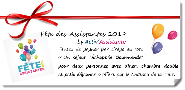 Lot chateau de la tour fete des assistantes 2018 by activ assistante