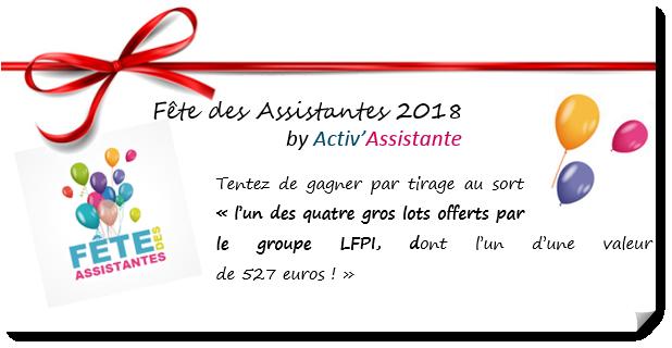 fete des assistantes activ assistantes gros lot 527 euros LFPI